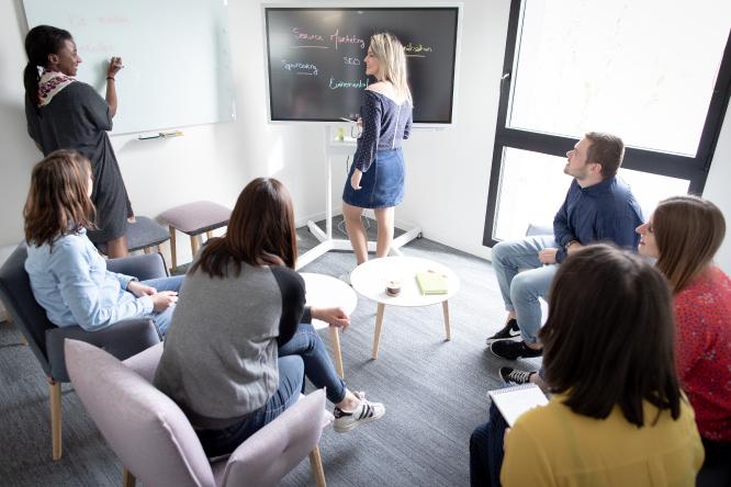 Salles dédiées au brainstorming